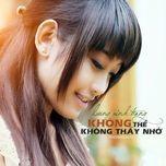 khong the khong thay nho (2012) - luong minh trang