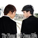 thoi (vol. 2) - tuy phong, ho quang hieu