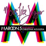 moves like jagger (ep 2011) - maroon 5, christina aguilera