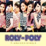 roly poly (type b) (japanese single) - t-ara