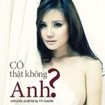 co that khong anh (single 2011) - vy oanh