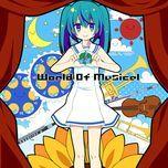 world of musical - himawari, hatsune miku