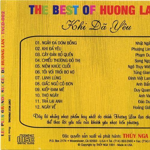 Nhạc Hay Hương Lan (Khi Đã Yêu)