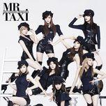 mr.taxi (korean version) - snsd