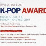 Gaon Chart Kpop Awards (12/02/2014)