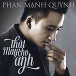Thật May Cho Anh (Single)