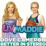 better in stereo (single) - dove cameron