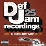 def jam 25, vol. 2: dj bring that back (1996-1984) - v.a