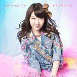 kashiwagi yuki 3rd solo live (single) - kashiwagi yuki