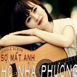 so mat anh (single) - ho nha phuong