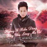 huong ve bien dong - hay yen long me oi (single) - quach tuan du