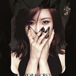 top secret (single) - hyo sung (secret)