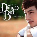 dau biet (single) - nguyen hong an