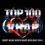 top 100 ca khuc v-rap nghe nhieu nhat nhaccuatui nua dau nam 2014 - v.a