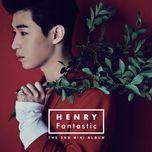 fantastic (mini album) - henry (super junior-m)