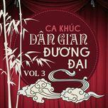 tuyen tap ca khuc dan gian duong dai (vol. 3) - v.a