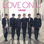 love on u (japanese single) - u-kiss
