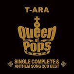 t-ara single complete best album queen of pops - t-ara