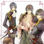 four by four - mi-chan, dasoku, clear, ren