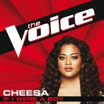 if i were a boy (the voice performance) (single) - cheesa