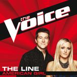 american girl (the voice perfomance) (single) - the line