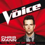the power of love (the voice performance) (single) - chris mann