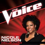 hallelujah (the voice performance) (single) - nicole nelson