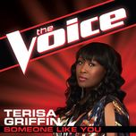 someone like you (the voice perfomance) (single) - terisa griffin