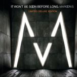 it won't be soon before long (limited deluxe edition) - maroon 5