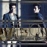 skeleton (japanese single) - dong hae (super junior), eun hyuk (super junior)