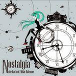 nostalgia (mini album) - doriko, hatsune miku