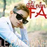 Tôi Vẫn FA (Single) - Lê Bảo Bình