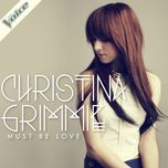 must be love (single) - christina grimmie