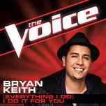 (everything i do) i do it for you (the voice performance) (single) - bryan keith