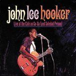 live at the cafe au go go (and soledad prison) - john lee hooker