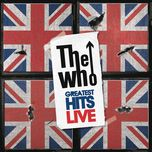 live greatest hits - the who