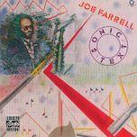 sonic text - joe farrell