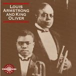 louis armstrong and king oliver - louis armstrong, king oliver's creole jazz band