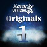 karaoke official: originals 1 - v.a