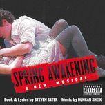 spring awakening (original broadway cast recording) - duncan sheik, steven sater