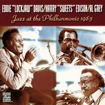 jazz at the philharmonic, 1983 - eddie lockjaw davis, al grey, harry sweets edison
