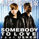 somebody to love (remix) (single) - justin bieber, usher