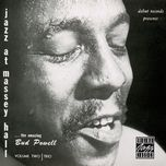 jazz at massey hall, volume 2 - bud powell trio