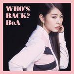 who's back? - boa