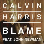 blame (uk version) (single) - calvin harris