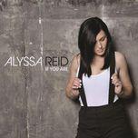 if you are (single) - alyssa reid