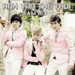 anh van the thoi (mini album) - tam ho
