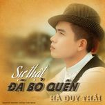 su that da bo quen - ha duy thai