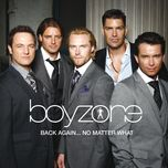 back again... no matter what - the greatest hits - boyzone