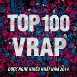 top 100 ca khuc v-rap nghe nhieu nhat nhaccuatui nam 2014 - v.a